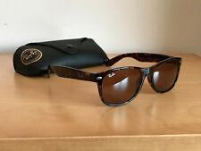 Ray Ban Sunglasses New Wayfarer RB2132 710 55 Tortoise Brown Vintage Retro
