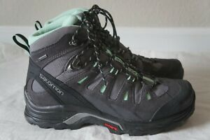 Salomon Quest Prime GTX Waterproof Hiking Backpacking Boots, Womens 9