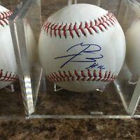 Jurickson Profar Signed Rawlings Official MLB Baseball Oakland Athletics Rangers