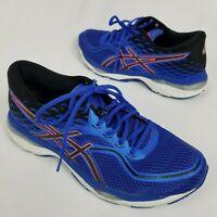 Asics Gel Cumulus 19 Womens Size 11 Running Shoes Blue White and Orange T7B8N
