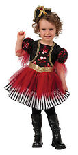 Toddler Treasure Island Pirate Costume Girls Pirate Costume Size 2T-4T