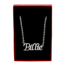 BILLIE Name Necklace Silver Tone | Christmas Jewellery Gifts For Her