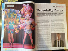 JASON DONOVAN interview PRISCILLA UK 1 DAY ISSUE 2014 PAM ANN