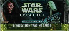 STAR WARS - Episode 1 Series 2 Widevision Card Packs (27) ~ Hobby #NEW