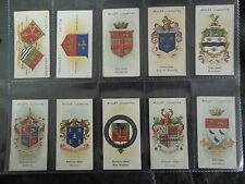1904 Wills BOROUGH ARMS UK counties 2nd series set 50 cards Tobacco Cigarette