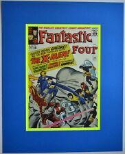 FANTASTIC FOUR 28 Pinup Poster Frame Ready Marvel X-MEN