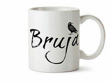 Bruja Witch New Coffee Tea Mug 11 oz The Raven Dark Light Worker Wiccan Gift