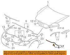 MITSUBISHI OEM 06-12 Eclipse Hood-Front Weatherstrip Seal MN169573