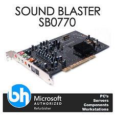 Dell Sound Blaster Creative Labs X-Fi SB0770 PCI Internal Sound Card 0WW202