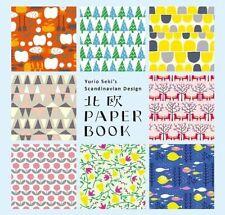 Yurio Seki's Scandinavian Design Paper Book, Yurio Seki, New