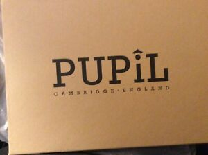 Leather cover IPAD AIR 2model Prefect by Pupil (made in Cambridge, UK) BLACK