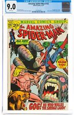 The Amazing Spider-Man #103 (Dec 1971, Marvel Comics) CGC 9.0 VF/NM   Kraven app