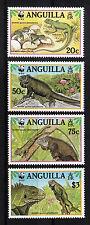 103866/ Anguilla 1997 - Mi 988/91 - Grüner Inselleguan / WWF - **