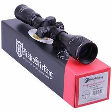 Nikko MOUNTMASTER 3-9x40 PX AO IR Parallax Rifle SCOPE Sight & 9-11mm MOUNTS