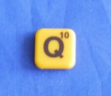 Words With Friends Letter Q Tile Replacement Magnet Game Part Piece Craft Yellow