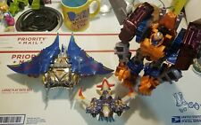 transformers beast wars optimal optimus airazor depthcharge transmetal used lot