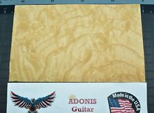 Ash Burl Guitar, Bass Headstock Veneer 5 x 8 x .044 Beautiful Grain Free Ship
