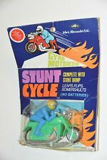 Vintage Mort Alexander Mortoys Stunt Cycle Motorcycle Gyro Motorized push toy