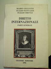 DIRITTO INTERNAZIONALE - PARTE GENERALE - GIULIANO / SCOVAZZI / TREVES 1991 (AB)