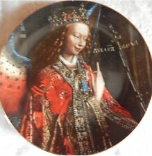 The Annunciation© Plate Christmas Stamp Art By Jan van Eyck 1988 #'d /9,900 RARE