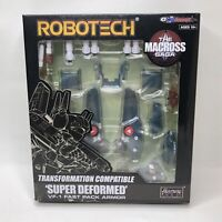 Kitz Concept Robotech Macross Super Deformed VF-1 Fast Pack Armor Harmony Gold