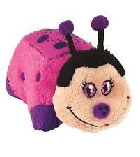 Pillow Pets Dream Lites Night Light MINI HOT PINK LADY BUG