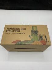 New listing Tumbling-box Sredder For Your Family Health