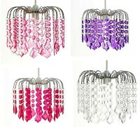 Modern Chandelier Style Ceiling Light Shade Pendant Acrylic Crystal Glass Shades