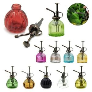 Glass Plant Mister Indoor Watering Can House Water Spray Sprayer Bottle