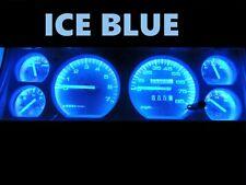 84 96 Jeep Cherokee Wagoneer Gauge Cluster LED Dashboard Bulbs ICE Blue