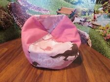 "handmade horse animal beanbag chair for 14-16"" babydoll berebguer/american bitty"