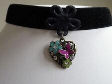 Handmade Alloy Crystal Choker Costume Necklaces & Pendants