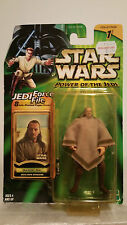 QUI-GON JINN MOS ESPA DISGUISE ACTION FIGURE STAR WARS POWER OF THE JEDI
