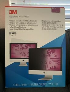 """NEW 3M High Clarity Privacy Filter for 27"""" IMAC HCMAP002"""