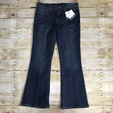 Calvin Klein Jeans Womens Darkwash Flared Leg 6x30 Regular Fit