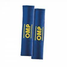 Coppia cuscinetti copricinture omp  cinture di sicurezza blu  rosso  nero