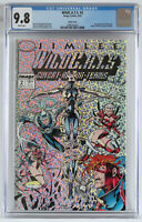 CGC 9.8 WildC.A.T.S. #2, NM/MT White Pages, prism cover, Wild Cats, NEW CASE