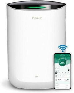 Brand New - Filtrete Smart Air Purifier & Air Quality Monitor Medium Rooms