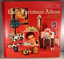 "Elvis Presley 1957 ""Elvis' Christmas Album"" WITH 1957 RECORD  NM COVER VG / VG+"