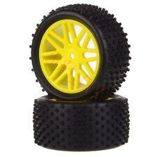 2x 1/10 HSP Off-road Buggy 06102 Rear Wheel Rim Tyre,Tires Insert Sponge 66038