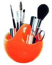 Spirella cuenco Shiny NARANJA make-up Contenedor de cosméticos 1 pieza negro