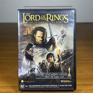 The Lord Of The Rings - The Return Of The King   VGC   Free Shipping
