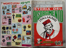 ALBUM Storia del Risorgimento Italiano  ed. Panini 1969 - quasi ottimo non cpl