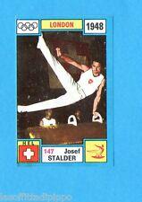 OLYMPIA 1896-1972-PANINI-Figurina ADESIVA !! n.147- STALDER - SVIZZERA -Rec