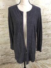 NEW SLINKY BRAND Grey Shimmer Knit Jacket E3078