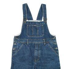 Vintage Denim Dungarees | Overalls Bib Jeans Retro Wash Indigo 90s