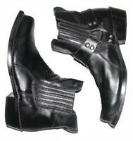 STARK: Biker- Stiefeletten / niedrige Herren- Stiefel in schwarz ca. Gr. 43,5