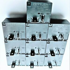 10pcs American Zettler AZ2160-1A-15DEF - AZ2160 Series - 30A Miniature Power Rel