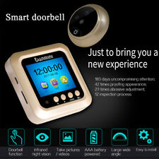 "2.4"" LCD Smart Door Peephole Viewer PIR HD Night Vision Security Camera Monitor"