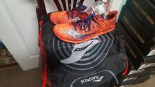 SAUCONY MEN  CARRERA XC2 SPIKE SHOES    SIZE 11.5